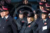 Remembrance Sunday at the Cenotaph in London 2014: Group M7 - Salvation Army. Press stand opposite the Foreign Office building, Whitehall, London SW1, London, Greater London, United Kingdom, on 09 November 2014 at 12:15, image #2029
