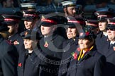 Remembrance Sunday at the Cenotaph in London 2014: Group M7 - Salvation Army. Press stand opposite the Foreign Office building, Whitehall, London SW1, London, Greater London, United Kingdom, on 09 November 2014 at 12:16, image #2034