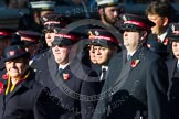 Remembrance Sunday at the Cenotaph in London 2014: Group M7 - Salvation Army. Press stand opposite the Foreign Office building, Whitehall, London SW1, London, Greater London, United Kingdom, on 09 November 2014 at 12:16, image #2036
