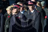 Remembrance Sunday at the Cenotaph in London 2014: Group M7 - Salvation Army. Press stand opposite the Foreign Office building, Whitehall, London SW1, London, Greater London, United Kingdom, on 09 November 2014 at 12:16, image #2039