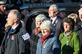 Remembrance Sunday at the Cenotaph in London 2014: Group M8 - NAAFI. Press stand opposite the Foreign Office building, Whitehall, London SW1, London, Greater London, United Kingdom, on 09 November 2014 at 12:16, image #2042