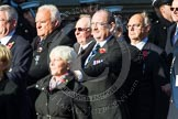 Remembrance Sunday at the Cenotaph in London 2014: Group M9 - Royal Voluntary Service. Press stand opposite the Foreign Office building, Whitehall, London SW1, London, Greater London, United Kingdom, on 09 November 2014 at 12:16, image #2047