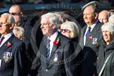 Remembrance Sunday at the Cenotaph in London 2014: Group M11 - National Association of Retired Police Officers. Press stand opposite the Foreign Office building, Whitehall, London SW1, London, Greater London, United Kingdom, on 09 November 2014 at 12:16, image #2050