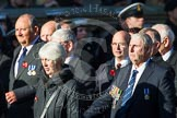 Remembrance Sunday at the Cenotaph in London 2014: Group M11 - National Association of Retired Police Officers. Press stand opposite the Foreign Office building, Whitehall, London SW1, London, Greater London, United Kingdom, on 09 November 2014 at 12:16, image #2052