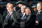Remembrance Sunday at the Cenotaph in London 2014: Group M11 - National Association of Retired Police Officers. Press stand opposite the Foreign Office building, Whitehall, London SW1, London, Greater London, United Kingdom, on 09 November 2014 at 12:16, image #2054