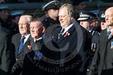 Remembrance Sunday at the Cenotaph in London 2014: Group M11 - National Association of Retired Police Officers. Press stand opposite the Foreign Office building, Whitehall, London SW1, London, Greater London, United Kingdom, on 09 November 2014 at 12:16, image #2055
