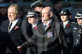 Remembrance Sunday at the Cenotaph in London 2014: Group M11 - National Association of Retired Police Officers. Press stand opposite the Foreign Office building, Whitehall, London SW1, London, Greater London, United Kingdom, on 09 November 2014 at 12:16, image #2056