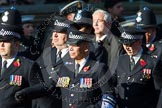 Remembrance Sunday at the Cenotaph in London 2014: Group M12 - Metropolitan Special Constabulary. Press stand opposite the Foreign Office building, Whitehall, London SW1, London, Greater London, United Kingdom, on 09 November 2014 at 12:16, image #2062