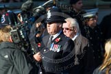 Remembrance Sunday at the Cenotaph in London 2014: Group M12 - Metropolitan Special Constabulary. Press stand opposite the Foreign Office building, Whitehall, London SW1, London, Greater London, United Kingdom, on 09 November 2014 at 12:16, image #2066