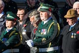 Remembrance Sunday at the Cenotaph in London 2014: Group M13 - London Ambulance Service NHS Trust. Press stand opposite the Foreign Office building, Whitehall, London SW1, London, Greater London, United Kingdom, on 09 November 2014 at 12:16, image #2078