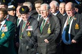 Remembrance Sunday at the Cenotaph in London 2014: Group M20 - Ulster Special Constabulary Association. Press stand opposite the Foreign Office building, Whitehall, London SW1, London, Greater London, United Kingdom, on 09 November 2014 at 12:17, image #2129