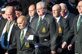 Remembrance Sunday at the Cenotaph in London 2014: Group M20 - Ulster Special Constabulary Association. Press stand opposite the Foreign Office building, Whitehall, London SW1, London, Greater London, United Kingdom, on 09 November 2014 at 12:17, image #2131