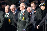 Remembrance Sunday at the Cenotaph in London 2014: Group M20 - Ulster Special Constabulary Association. Press stand opposite the Foreign Office building, Whitehall, London SW1, London, Greater London, United Kingdom, on 09 November 2014 at 12:17, image #2132