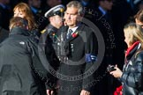 Remembrance Sunday at the Cenotaph in London 2014: Group M21 - Commonwealth War Graves Commission. Press stand opposite the Foreign Office building, Whitehall, London SW1, London, Greater London, United Kingdom, on 09 November 2014 at 12:17, image #2137
