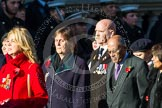 Remembrance Sunday at the Cenotaph in London 2014: Group M22 - Daniel's Trust. Press stand opposite the Foreign Office building, Whitehall, London SW1, London, Greater London, United Kingdom, on 09 November 2014 at 12:17, image #2146