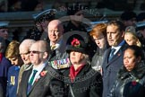 Remembrance Sunday at the Cenotaph in London 2014: Group M23 - Civilians Representing Families. Press stand opposite the Foreign Office building, Whitehall, London SW1, London, Greater London, United Kingdom, on 09 November 2014 at 12:18, image #2151