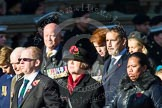 Remembrance Sunday at the Cenotaph in London 2014: Group M23 - Civilians Representing Families. Press stand opposite the Foreign Office building, Whitehall, London SW1, London, Greater London, United Kingdom, on 09 November 2014 at 12:18, image #2152