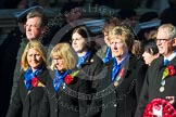 Remembrance Sunday at the Cenotaph in London 2014: Group M27 - PDSA. Press stand opposite the Foreign Office building, Whitehall, London SW1, London, Greater London, United Kingdom, on 09 November 2014 at 12:18, image #2204