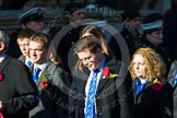 Remembrance Sunday at the Cenotaph in London 2014: Group M27 - PDSA. Press stand opposite the Foreign Office building, Whitehall, London SW1, London, Greater London, United Kingdom, on 09 November 2014 at 12:18, image #2207