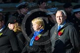 Remembrance Sunday at the Cenotaph in London 2014: Group M27 - PDSA. Press stand opposite the Foreign Office building, Whitehall, London SW1, London, Greater London, United Kingdom, on 09 November 2014 at 12:18, image #2210