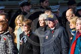 Remembrance Sunday at the Cenotaph in London 2014: Group M28 - HM Ships Glorious Ardent & ACASTA Association. Press stand opposite the Foreign Office building, Whitehall, London SW1, London, Greater London, United Kingdom, on 09 November 2014 at 12:18, image #2214