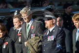 Remembrance Sunday at the Cenotaph in London 2014: Group M33 - Ministry of Defence (MoD) Civilians. Press stand opposite the Foreign Office building, Whitehall, London SW1, London, Greater London, United Kingdom, on 09 November 2014 at 12:19, image #2236