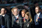 Remembrance Sunday at the Cenotaph in London 2014: Group M33 - Ministry of Defence (MoD) Civilians. Press stand opposite the Foreign Office building, Whitehall, London SW1, London, Greater London, United Kingdom, on 09 November 2014 at 12:19, image #2238