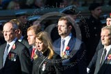 Remembrance Sunday at the Cenotaph in London 2014: Group M33 - Ministry of Defence (MoD) Civilians. Press stand opposite the Foreign Office building, Whitehall, London SW1, London, Greater London, United Kingdom, on 09 November 2014 at 12:19, image #2239