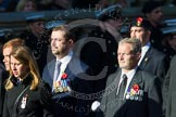 Remembrance Sunday at the Cenotaph in London 2014: Group M33 - Ministry of Defence (MoD) Civilians. Press stand opposite the Foreign Office building, Whitehall, London SW1, London, Greater London, United Kingdom, on 09 November 2014 at 12:19, image #2240