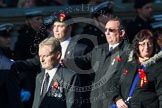 Remembrance Sunday at the Cenotaph in London 2014: M34 - TRBL Non Ex-Service Members.. Press stand opposite the Foreign Office building, Whitehall, London SW1, London, Greater London, United Kingdom, on 09 November 2014 at 12:19, image #2241