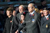 Remembrance Sunday at the Cenotaph in London 2014: M34 - TRBL Non Ex-Service Members.. Press stand opposite the Foreign Office building, Whitehall, London SW1, London, Greater London, United Kingdom, on 09 November 2014 at 12:19, image #2242
