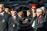Remembrance Sunday at the Cenotaph in London 2014: M34 - TRBL Non Ex-Service Members.. Press stand opposite the Foreign Office building, Whitehall, London SW1, London, Greater London, United Kingdom, on 09 November 2014 at 12:19, image #2244