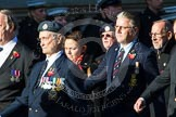 Remembrance Sunday at the Cenotaph in London 2014: M34 - TRBL Non Ex-Service Members.. Press stand opposite the Foreign Office building, Whitehall, London SW1, London, Greater London, United Kingdom, on 09 November 2014 at 12:19, image #2248