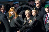 Remembrance Sunday at the Cenotaph in London 2014: M34 - TRBL Non Ex-Service Members.. Press stand opposite the Foreign Office building, Whitehall, London SW1, London, Greater London, United Kingdom, on 09 November 2014 at 12:19, image #2252