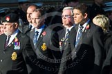 Remembrance Sunday at the Cenotaph in London 2014: M34 - TRBL Non Ex-Service Members.. Press stand opposite the Foreign Office building, Whitehall, London SW1, London, Greater London, United Kingdom, on 09 November 2014 at 12:19, image #2254
