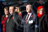 Remembrance Sunday at the Cenotaph in London 2014: Group M36 - Western Front Association. Press stand opposite the Foreign Office building, Whitehall, London SW1, London, Greater London, United Kingdom, on 09 November 2014 at 12:19, image #2266