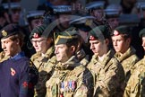 Remembrance Sunday at the Cenotaph in London 2014: Group M46 - Combined Cadet Force. Press stand opposite the Foreign Office building, Whitehall, London SW1, London, Greater London, United Kingdom, on 09 November 2014 at 12:21, image #2286