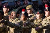 Remembrance Sunday at the Cenotaph in London 2014: Group M47 - Army Cadet Force. Press stand opposite the Foreign Office building, Whitehall, London SW1, London, Greater London, United Kingdom, on 09 November 2014 at 12:21, image #2298