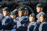 Remembrance Sunday at the Cenotaph in London 2014: Group M48 - Air Training Corps. Press stand opposite the Foreign Office building, Whitehall, London SW1, London, Greater London, United Kingdom, on 09 November 2014 at 12:21, image #2306