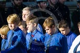 Remembrance Sunday at the Cenotaph in London 2014: Group M51 - Boys Brigade. Press stand opposite the Foreign Office building, Whitehall, London SW1, London, Greater London, United Kingdom, on 09 November 2014 at 12:21, image #2327
