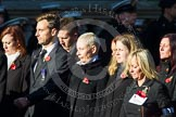 Remembrance Sunday at the Cenotaph in London 2014: Group M56 - YMCA. Press stand opposite the Foreign Office building, Whitehall, London SW1, London, Greater London, United Kingdom, on 09 November 2014 at 12:22, image #2367