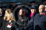 Remembrance Sunday at the Cenotaph in London 2014: Group M56 - YMCA. Press stand opposite the Foreign Office building, Whitehall, London SW1, London, Greater London, United Kingdom, on 09 November 2014 at 12:22, image #2368