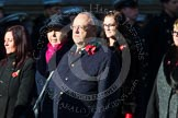 Remembrance Sunday at the Cenotaph in London 2014: Group M56 - YMCA. Press stand opposite the Foreign Office building, Whitehall, London SW1, London, Greater London, United Kingdom, on 09 November 2014 at 12:22, image #2369