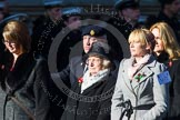 Remembrance Sunday at the Cenotaph in London 2014: Group M57 - TRBL Women's Section. Press stand opposite the Foreign Office building, Whitehall, London SW1, London, Greater London, United Kingdom, on 09 November 2014 at 12:22, image #2371