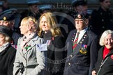 Remembrance Sunday at the Cenotaph in London 2014: Group M57 - TRBL Women's Section. Press stand opposite the Foreign Office building, Whitehall, London SW1, London, Greater London, United Kingdom, on 09 November 2014 at 12:22, image #2372