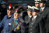 Remembrance Sunday at the Cenotaph in London 2014: Group M?? - HMRC. Press stand opposite the Foreign Office building, Whitehall, London SW1, London, Greater London, United Kingdom, on 09 November 2014 at 12:22, image #2375