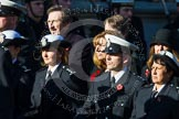 Remembrance Sunday at the Cenotaph in London 2014: Group M?? - HMRC. Press stand opposite the Foreign Office building, Whitehall, London SW1, London, Greater London, United Kingdom, on 09 November 2014 at 12:22, image #2380