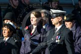 Remembrance Sunday at the Cenotaph in London 2014: Group M?? - HMRC. Press stand opposite the Foreign Office building, Whitehall, London SW1, London, Greater London, United Kingdom, on 09 November 2014 at 12:22, image #2383