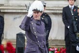 Remembrance Sunday at the Cenotaph in London 2014: Major-General Edward Smyth-Osbourne CBE, the Major-General commanding the Household Division. Press stand opposite the Foreign Office building, Whitehall, London SW1, London, Greater London, United Kingdom, on 09 November 2014 at 10:54, image #115