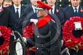 Remembrance Sunday at the Cenotaph in London 2014: HRH The Earl of Wessex walking towards the Cenotaph with his wreath. Press stand opposite the Foreign Office building, Whitehall, London SW1, London, Greater London, United Kingdom, on 09 November 2014 at 11:06, image #211